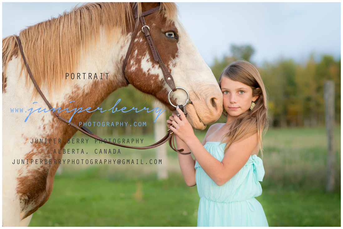 A beautiful girl and her horse