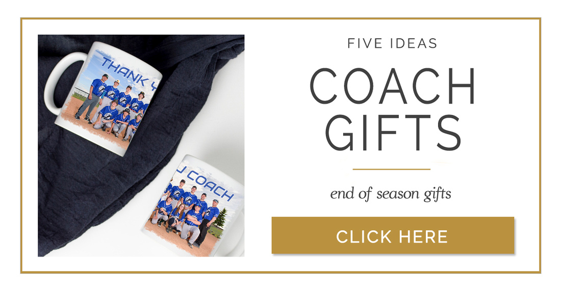 Coach gifts for those who volunteer for team sports