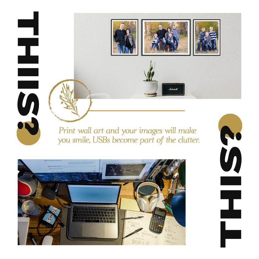 Wall art or desk clutter