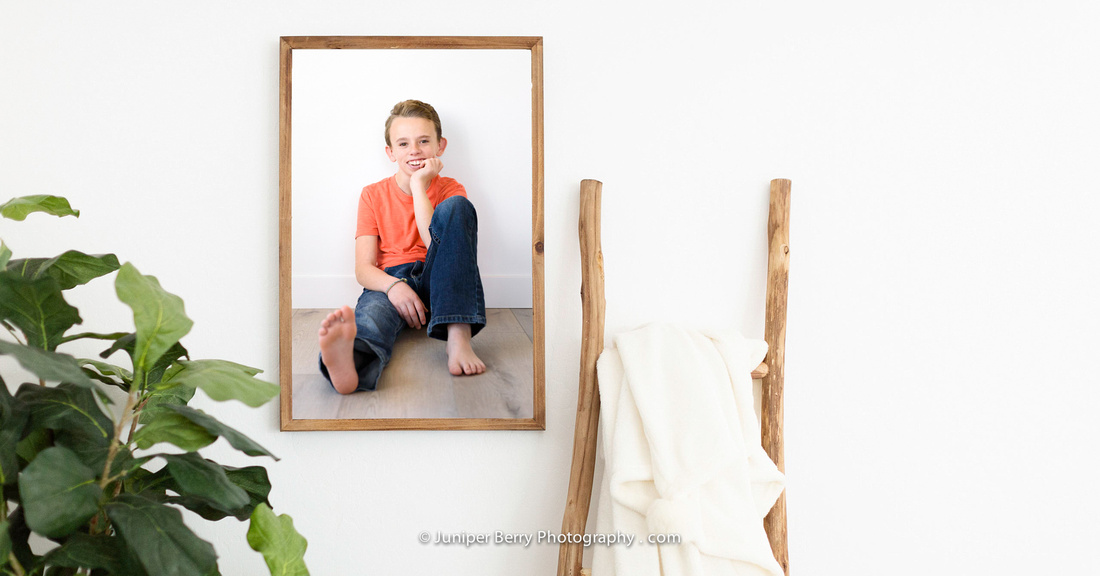Portraits for boys and why printing is important
