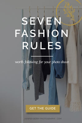 What to wear to your photo shoot a client resource