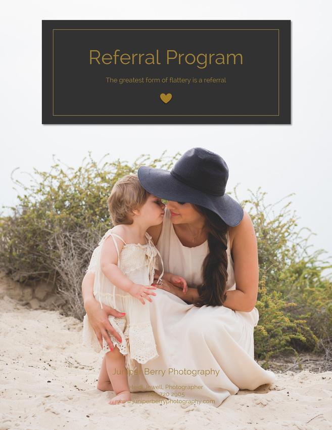 """Referral Program"""