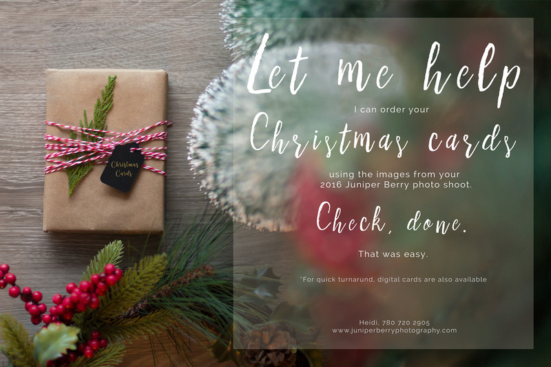 Juniper Berry Photography, Christmas Cards, Tip, Easy,